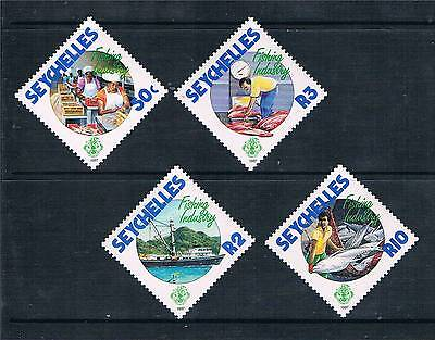 Seychelles 1987 Fishing Industry SG 679/82 MNH