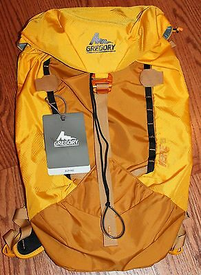 Gregory Backpack VERTE 25 in Alpine Gold GM74785 Compact Alpine Pack