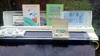 brother 950i elektroknit knitting machine fully serviced and tested