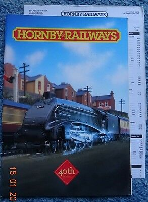 HORNBY CATALOGUE - 40th Edition