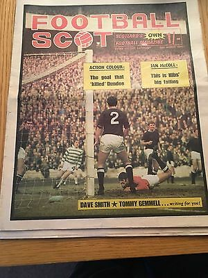 Football Scot Magazine/newspaper  28.3.1970