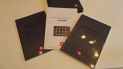 Citroen Saxo Owners Manual and wallet