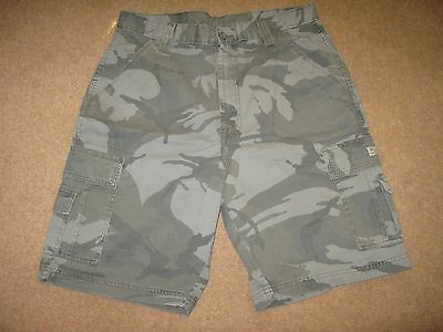 Wrangler Men Man Military Camouflage Shorts Size W32