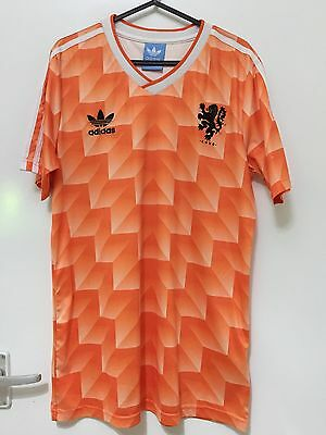 Netherlands Euro 1988 Home Shirt Style Replica Size M/S Holland Oranje