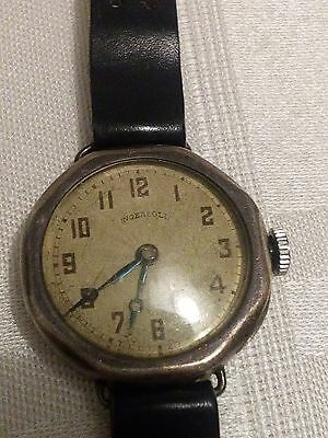 Ingersoll antique vintage watch solid silver