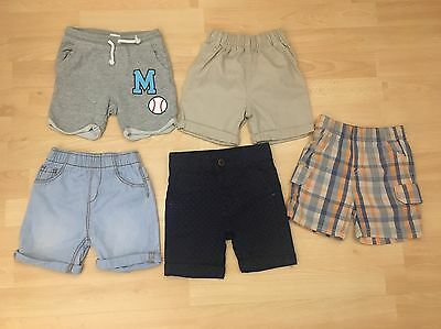 Boys Shorts 9-12 Months George And H & M
