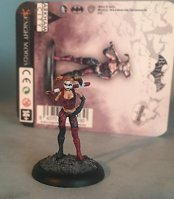 Pro-painted 35mm Pewter Model- Harley Quinn