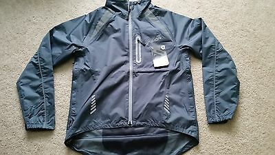 Altura Night Vision cycling jacket. NEW WITH TAGS. SIZE MEDIUM Waterproof, bike