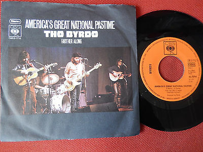"""7"""",,The Byrds,,,Americas Great National Pastime,,!!! LESEN !!!"""