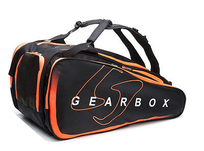 Gearbox Racquetball PRISM Ally Bag in Black / Orange