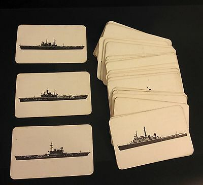 Royal Navy Silhouette Recognition Cards