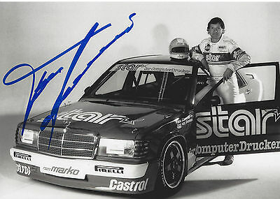 Franz Klammer - Mercedes 190E 2.3-16 - DTM - 1988 - orgin sign!!