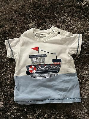Boat T-Shirt (Size 3-6 Months)