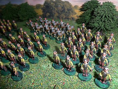 1/72 20mm 25mm Fantasy Centaurs Satyrs Army 76 figures miniature Wargame