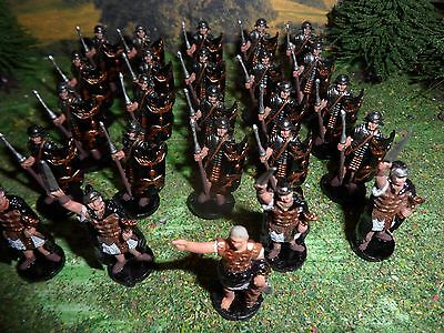 28mm 30mm Roman PAINTED Infantry Legion Army Conquest of Empire
