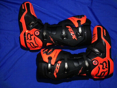 Fox Racing Instinct MX boots KTM orange