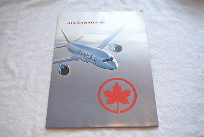 Air Canada Airlines Airways Dreamliner 787 Boeing Folder W/ Product Info