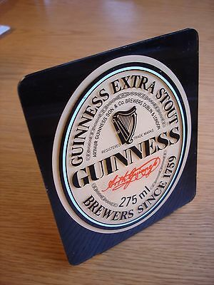 Guinness advertising display stand. Guinness Label