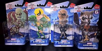 4 Disney Infinity 2.0 Figures Brand New Boxed For Ps3/xbox 360/wii U