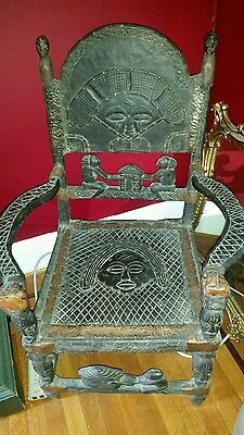 antique african chair dogon or mali