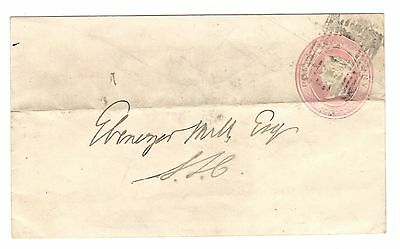 Queen Victoria - 1d Pink - Embossed Postal Stationery - Cover - Aberdeen ? 1854