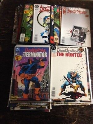 full set deathstroke the terminator #1-60, 0 annuals #1-4