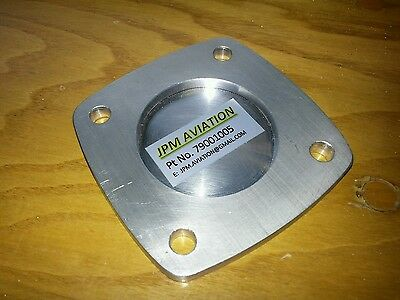 Vac pump cover plate to suit Continental O-200