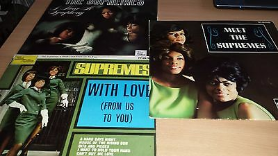 3 X Supremes Lp's - With Love From Us To You / Hear A Symphony/meet The Supremes