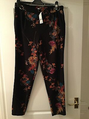 Brand new ladies patterned trousers size 14