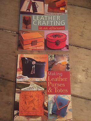 2 Great LeatherWorkers Books