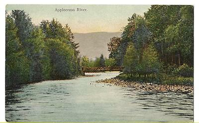 EARLY POSTCARD - APPLECROSS RIVER, SCOTTISH HIGHLANDS - c.1915