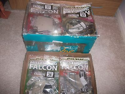 Build The Millennium Falcon Issues 1-30 All Sealed Packs