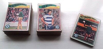 Topps 1978 (Orange Back) Football Cards - Approx 100