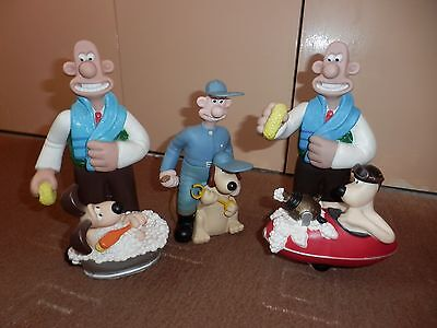 3 Wallace And Gromit Bubble Baths (Empty) - Vintage Collectables 1989