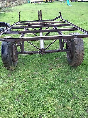 trailer for use with tractor, ideal for farm, small hold, stables