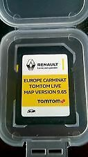 Carte SD Europe 2016 GPS Renault d'origine