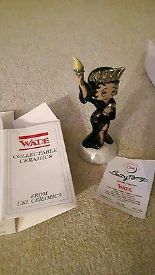 Wade Betty boop Liberty figurine no 250 of 1000