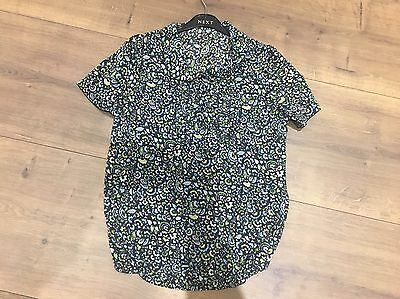 Next maternity Top In Ditsy Print Size 12
