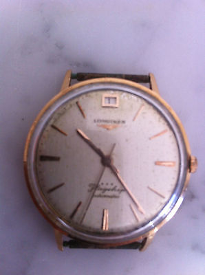 montre longines flagship automatic or 18k