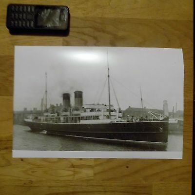 Anglia Steamer Large Photograph A1Lp24
