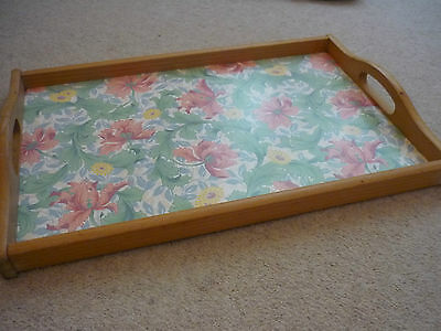 Vintage Marks & Spencer Tray with Handles William Morris Design