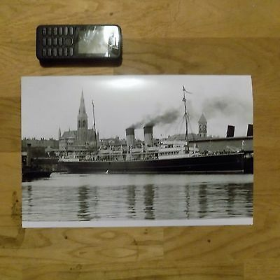 Anglia Steamer Large Photograph A1Lp25