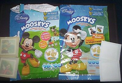 Mickey Mouse Stickers & Others  From Spanish Snacks