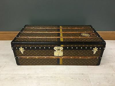 antique Louis Vuitton trunk malle koffer