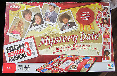High School Musical Mystery Date Game ( Open The Door To Your Perfect..) B.n.i.b