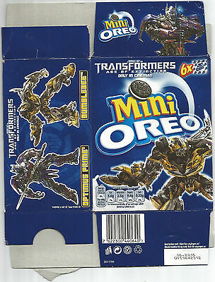 Transformers Orio's Biscuits Box