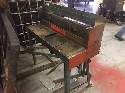 Treadle Guillotine / 1.5mm Cut Thickness / 3ft(1m)  Long