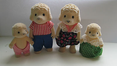 Sylvanian Vintage Forest Friends Families Sheep Adults - Rare