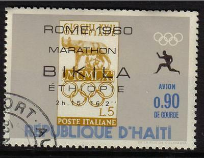 Olympics Rome1960 Italy Marathon Cto Never Hinged Stamps On Stamps Haiti
