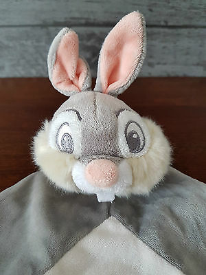 Thumper Comforter Soft Toy Baby Hug Toy Disney Thumper Bunny Rabbit - Rare...vgc